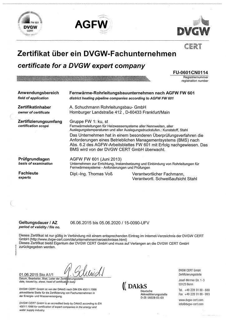 AGFW-Zertifikat-FW1